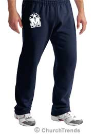 Sweatpants for youth groups, custom printed sweatpants